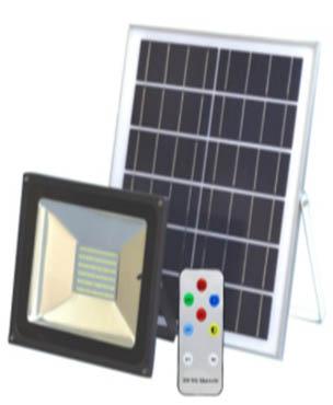 Beli Lampu tenaga matahari untuk taman GC-FL01-30W