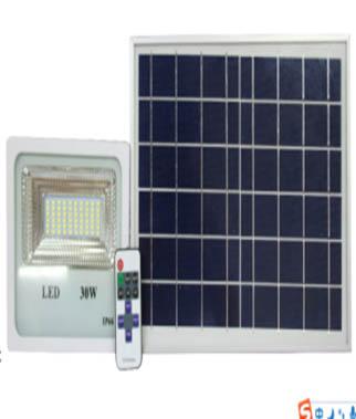 Jual lampu sorot tenaga surya flood light murah GC-FL02-30W