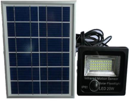 lampu spot led Murah tenaga surya GC-FLSEN02-20W